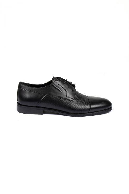 Siyah Deri Klasik Ayakkabı