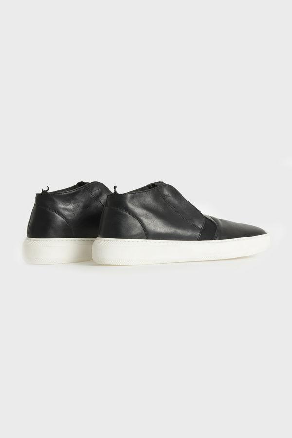Siyah Deri Günlük Ayakkabı