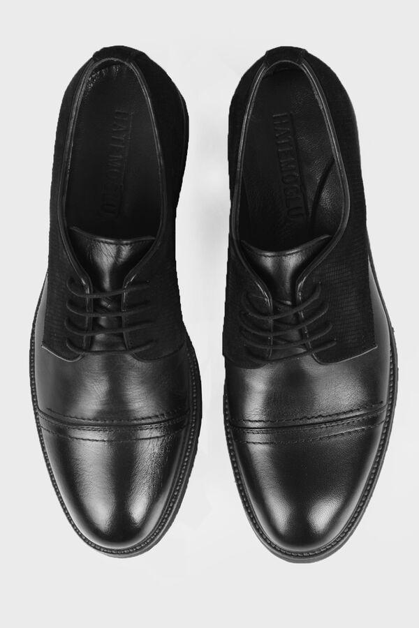Siyah Günlük Oxford Ayakkabı