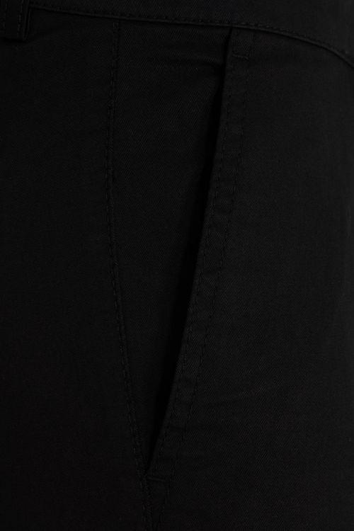 Siyah Regular Fit Kumaş Pantolon