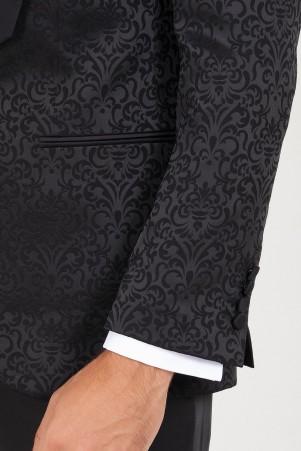 Siyah Slim Fit Damatlık - Thumbnail