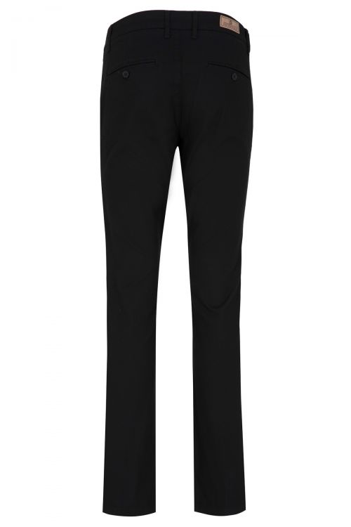 Siyah Regular Fit Kanvas Pantolon