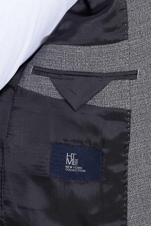 Gri Desenli Mix Takım Elbise