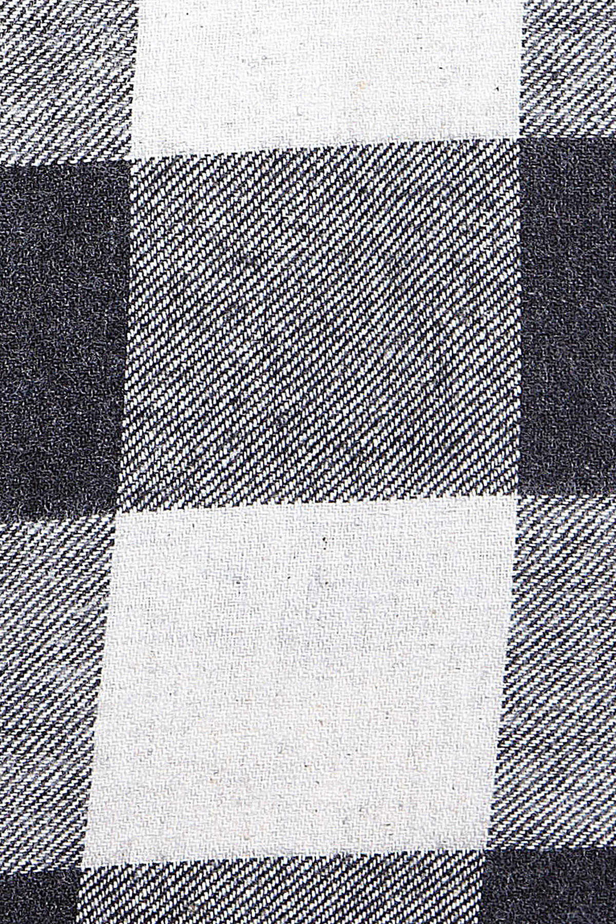 Siyah Kareli Oduncu Gömlek - Thumbnail