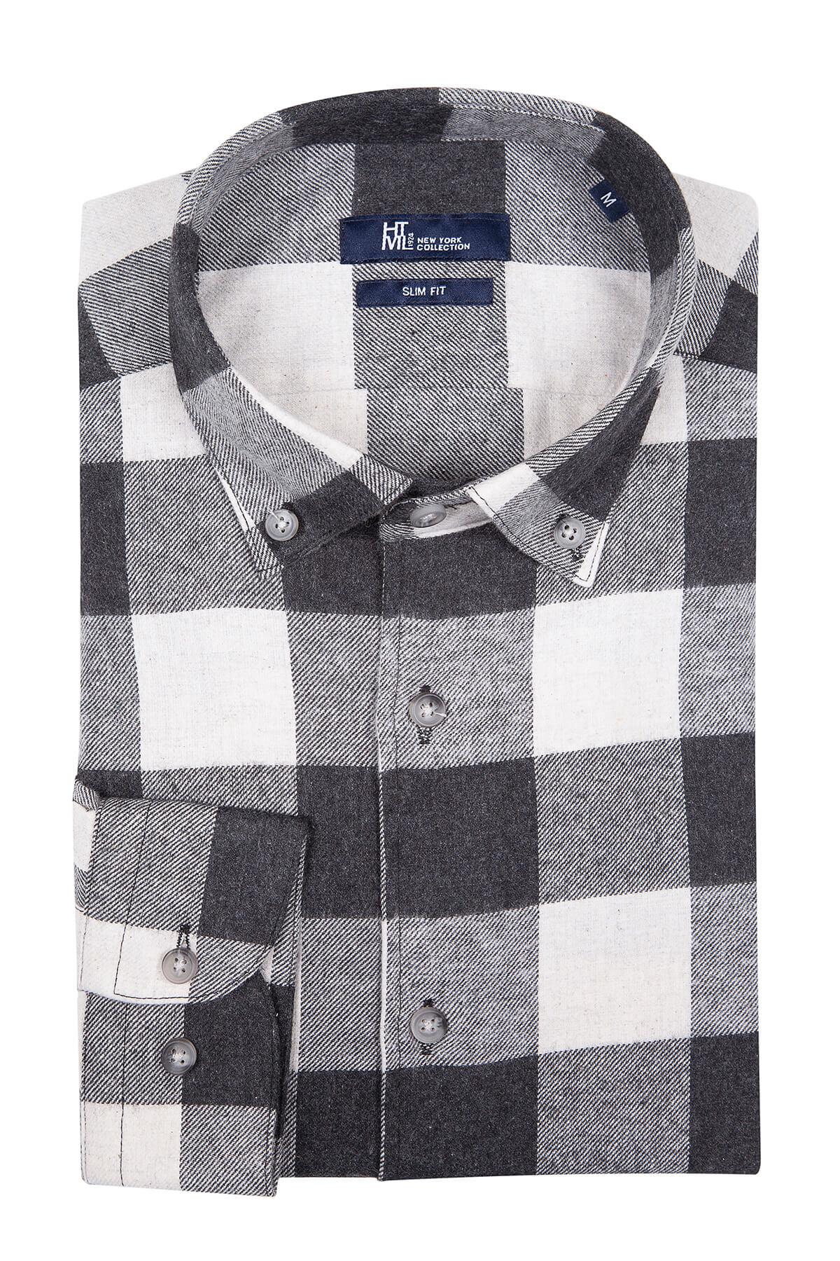 Siyah Kareli Oduncu Gömlek