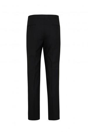 Siyah Regular Fit Pantolon - Thumbnail