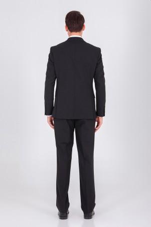 Siyah Regular Takım Elbise - Thumbnail