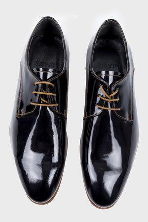 Siyah Klasik Oxford Ayakkabı