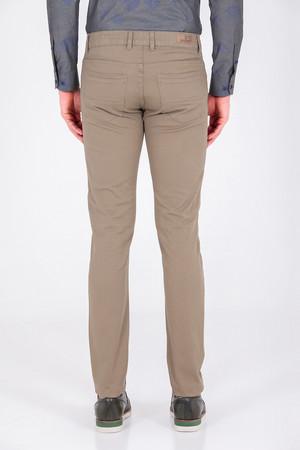 Slim Fit Haki Pantolon - Thumbnail