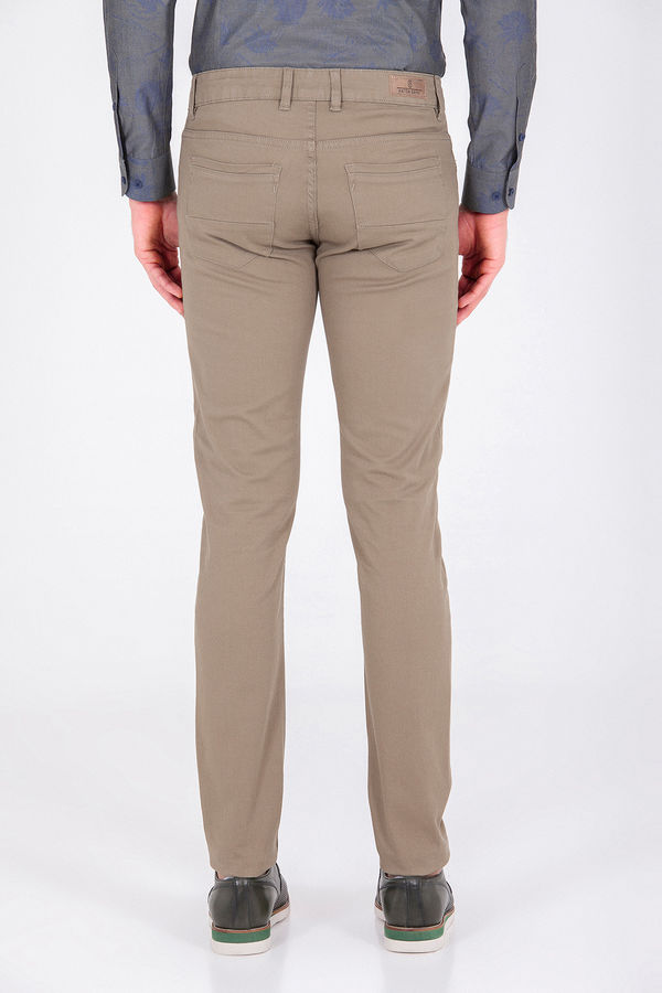 Slim Fit Haki Pantolon