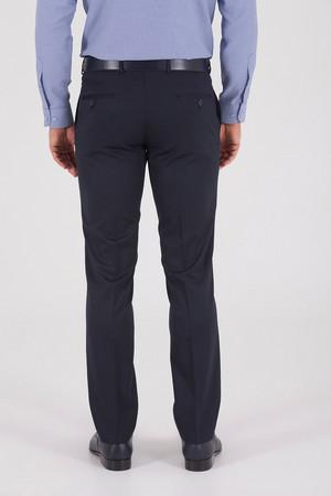 Lacivert Slim Fit Kumaş Pantolon - Thumbnail
