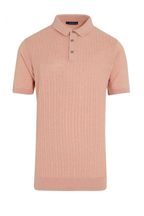 Somon Regular Fit Polo Yaka Triko Tişört