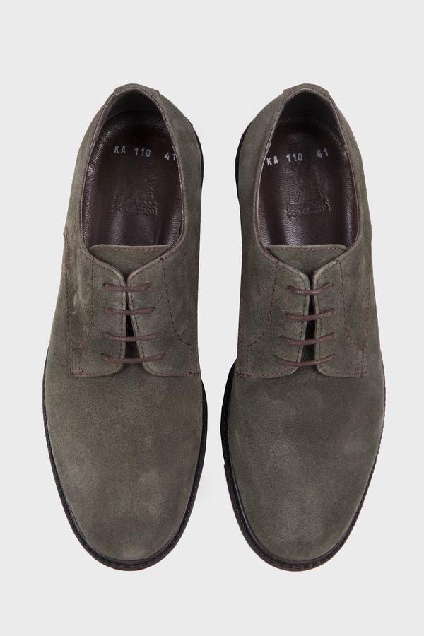 Haki Süet Günlük Ayakkabı