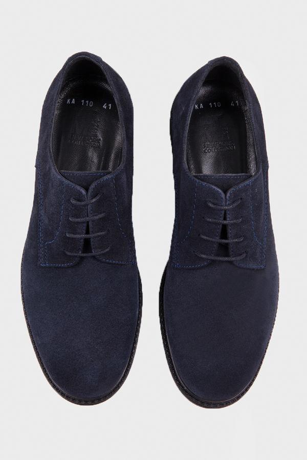 Lacivert Süet Günlük Ayakkabı