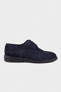 Lacivert Süet Günlük Ayakkabı - Thumbnail