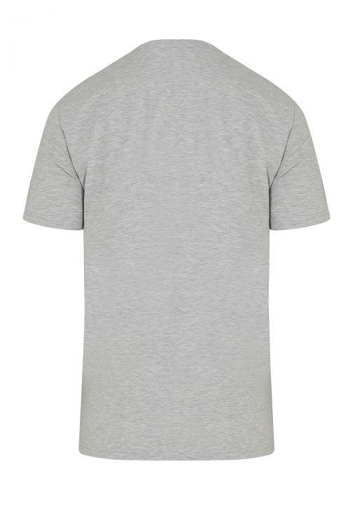 V Yaka Basic 3'lü Pamuklu Tişört