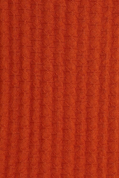 Turuncu Regular Fit Polo Yaka Triko Tişört