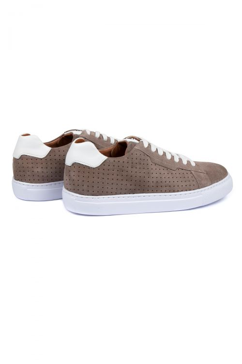 Vizon Süet Deri Sneaker