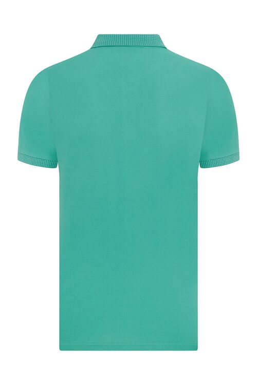 Yeşil Polo Yaka Tişört